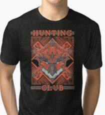 Hunting Club: Rathalos Tri-blend T-Shirt