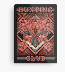 Hunting Club: Rathalos Metal Print