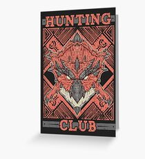 Hunting Club: Rathalos Greeting Card