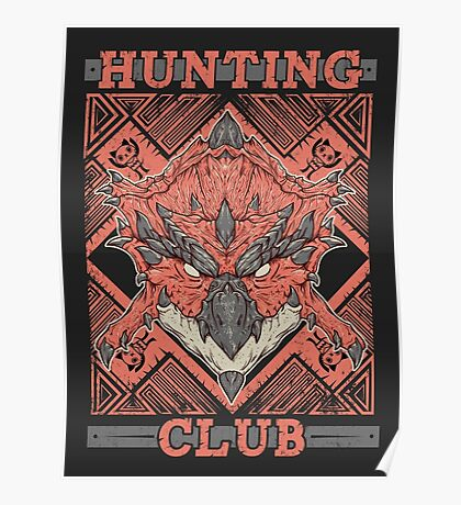 Hunting Club: Rathalos Poster