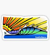 Smooth Wave Sticker