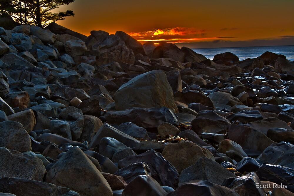 White Point Rocks (HDR) by Scott Ruhs