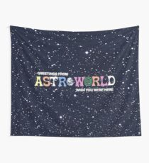 Astroworld Were Here Tapestry