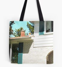 Upstairs, Downstairs Tote Bag