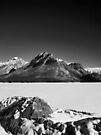 Frozen Lake Minnewanka by Ryan Davison Crisp