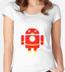 FlashDroid Women's Fitted Scoop T-Shirt
