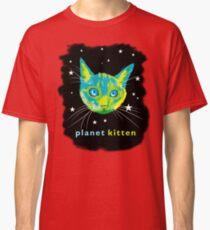 Planet Kitten Classic T-Shirt