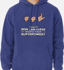 ASL Superpower Pullover Hoodie