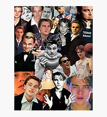 Leonardo Dicaprio Collage Photographic Print