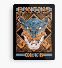 Hunting Club: Tigrex Metal Print