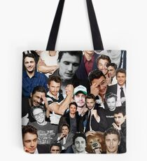 James Franco Collage Tote Bag