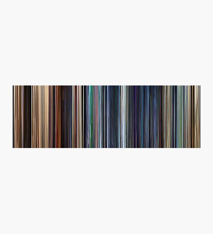 Moviebarcode: WALL·E (2008) Photographic Print
