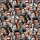 Ryan Gosling Collage by tatianaedell