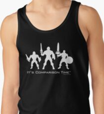 """It's Comparison Time"" - Barbarian  Tank Top"