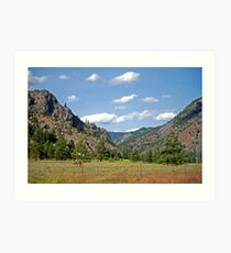 Summer in Sanders County (Montana) Art Print