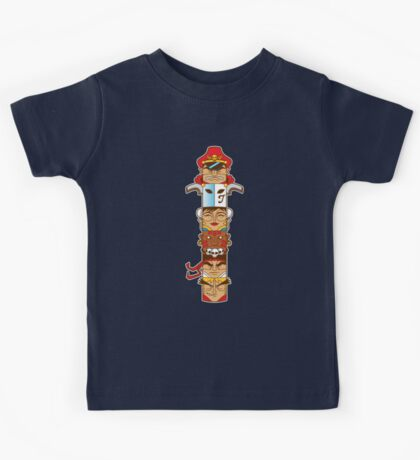 Street Fighter 2 Totem Kids Clothes