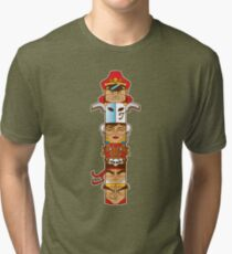 Street Fighter 2 Totem Tri-blend T-Shirt