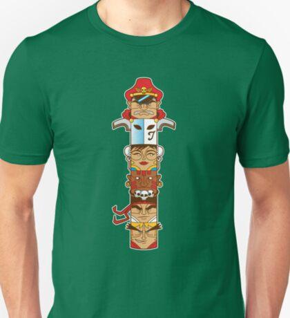 Street Fighter 2 Totem T-Shirt
