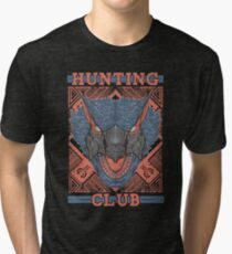 Hunting Club: Nargacuga Tri-blend T-Shirt