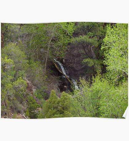 Green River Waterfall Poster