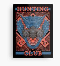 Hunting Club: Nargacuga Metal Print