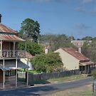Clarke St, Hill End, NSW, Australia by Adrian Paul