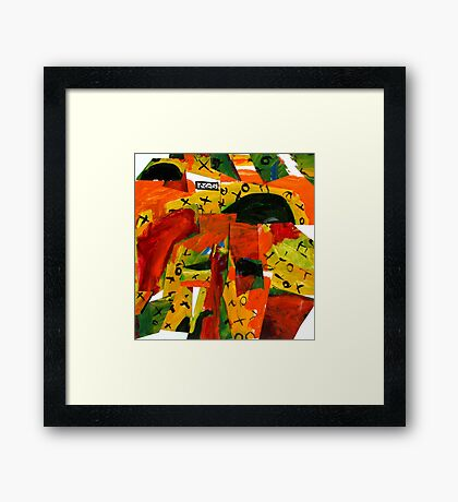 my landscape Framed Print