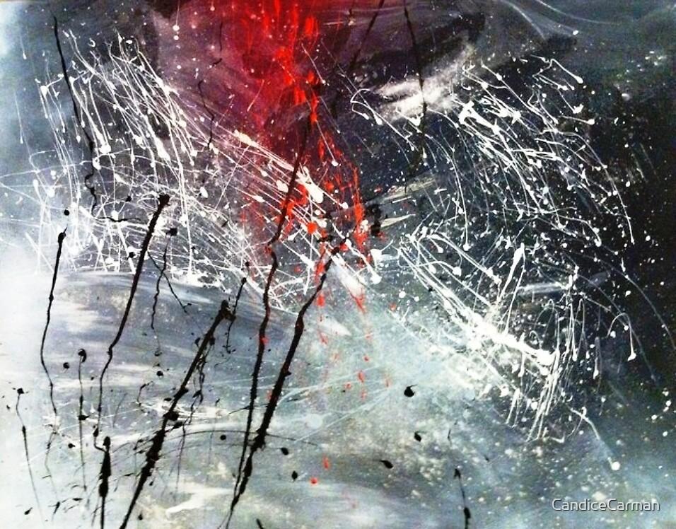 Grey scale Fireworks by CandiceCarman