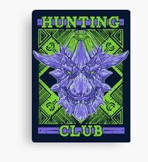 Hunting Club: Brachydios Canvas Print