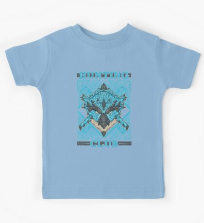 Hunting Club: Azure Rathalos Kids Clothes
