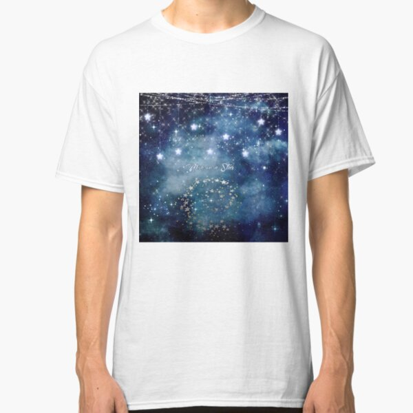 Wish on a Star Night Sky Classic T-Shirt
