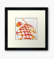 Fire Woman Framed Print