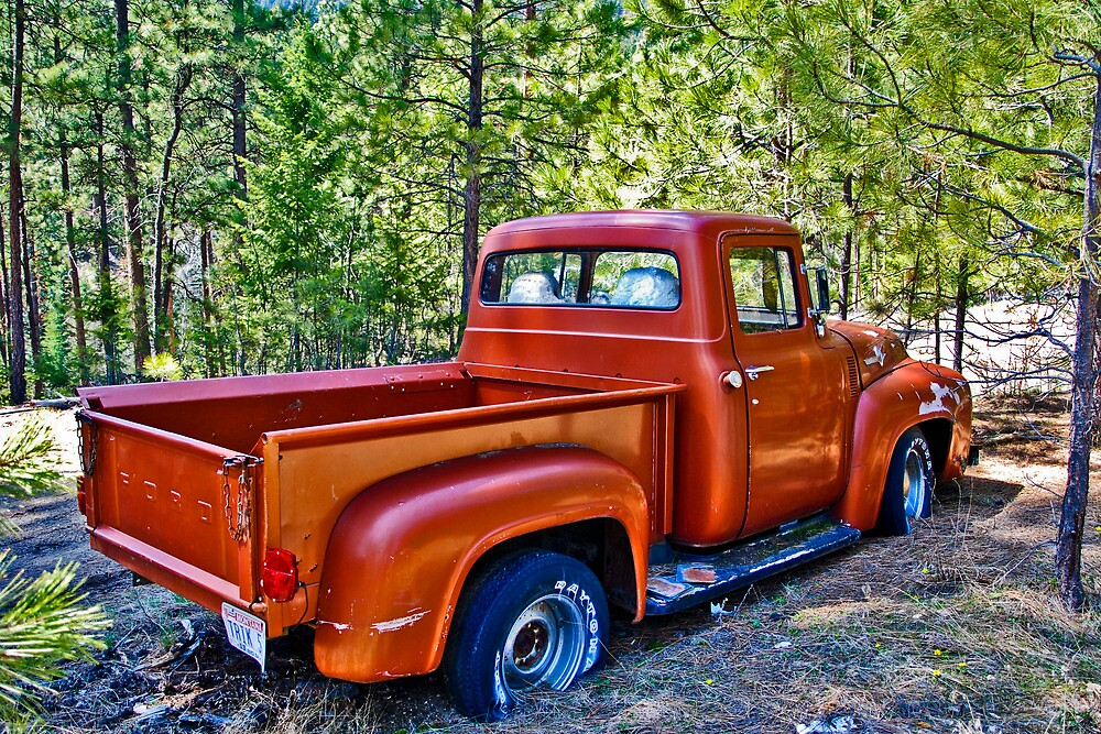 Quot 56 Ford Truck Quot By Bryan D Spellman Redbubble