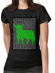 """""""The Year Of The Ox / Oxen / Buffalo / Cow"""" Clothing Womens Fitted T-Shirt"""