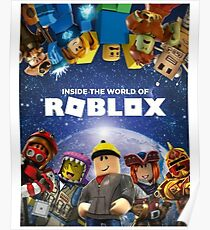 """""""Inside the world of Roblox - Games"""" Poster"""