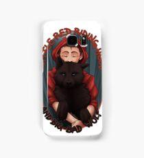 Little Red and BigBad Wolf Samsung Galaxy Case/Skin