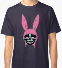 Grey Rabbit/Pink Ears Classic T-Shirt
