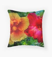 The same but different Throw Pillow