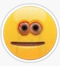cursed emoji #1 Sticker