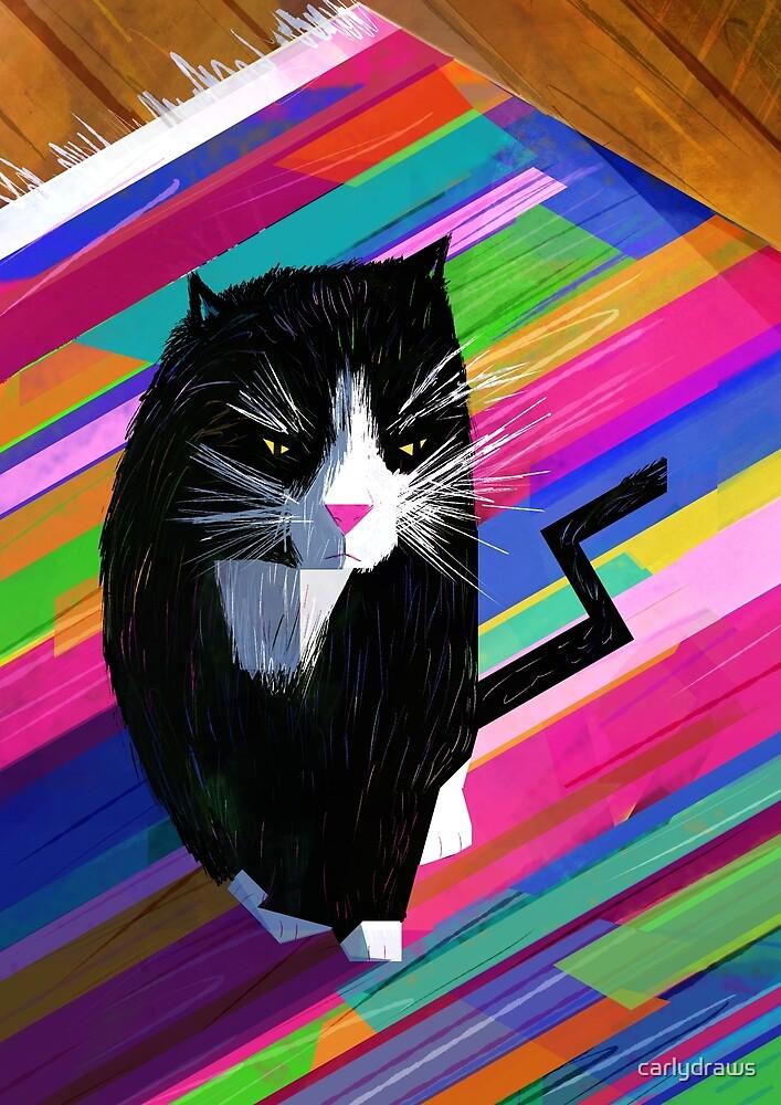 Grumpy Cat by carlydraws
