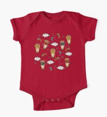 Hot air balloons Short Sleeve Baby One-Piece