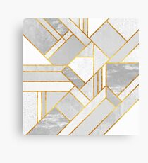 Gold City Canvas Print