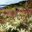 Summer Garden on La Cote d'Azur by RC deWinter