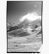 Jungfrau scene swiss alps Poster