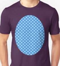 Blue On Blue Polka Dots T-Shirt