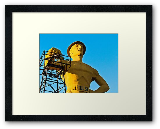 Golden Driller by SheppardPhoto