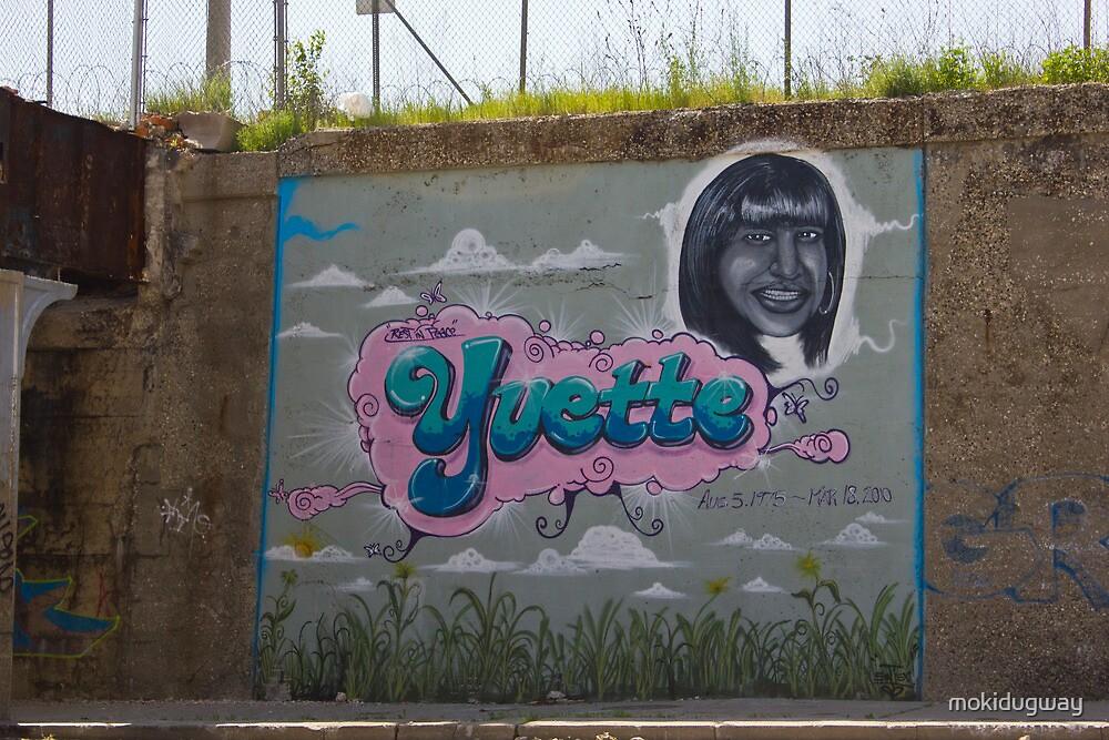 R.I.P. Yvette by mokidugway