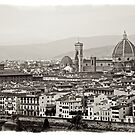 Florence italy city scape by grorr76