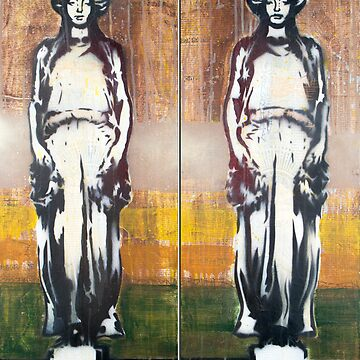 Caryatids Diptych #1 by PONSHOP