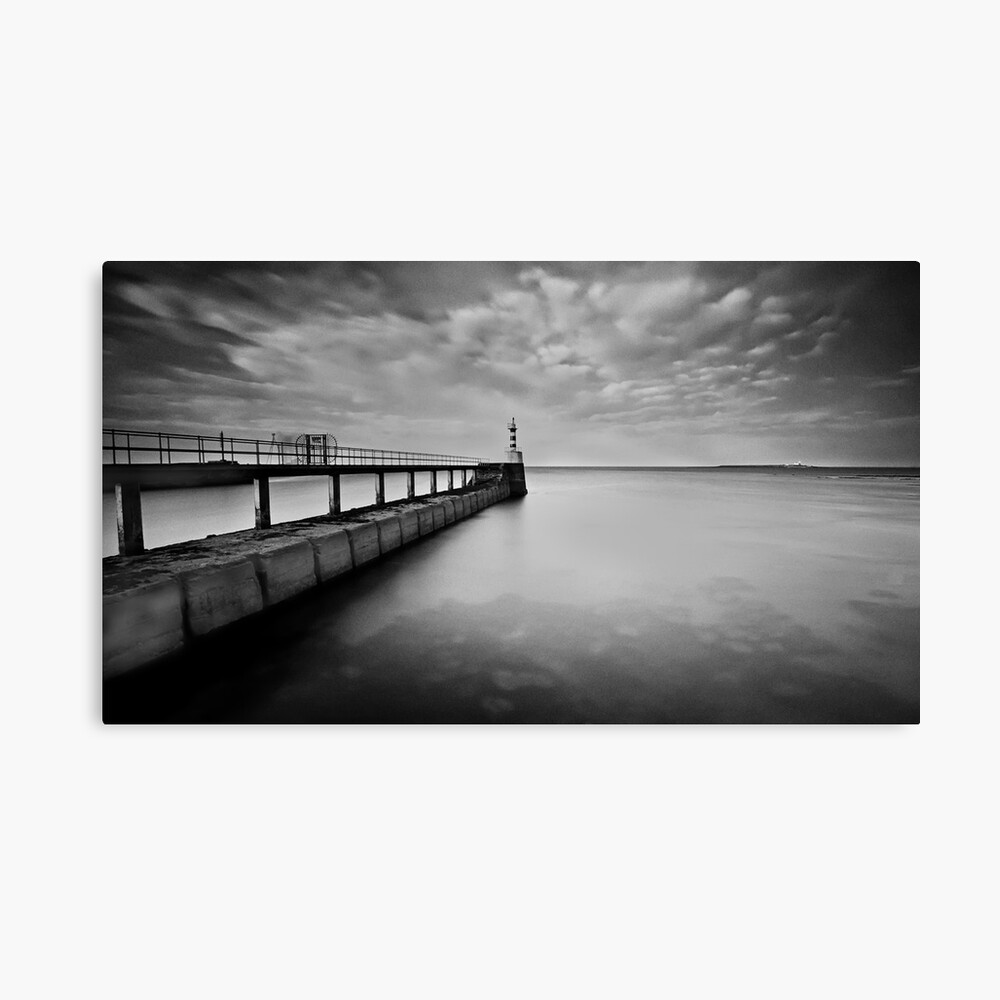 Long Pier Canvas Print